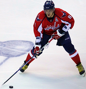 """Alex Ovechkin2"" by Keith Allison. Licensed under Public Domain via Commons."